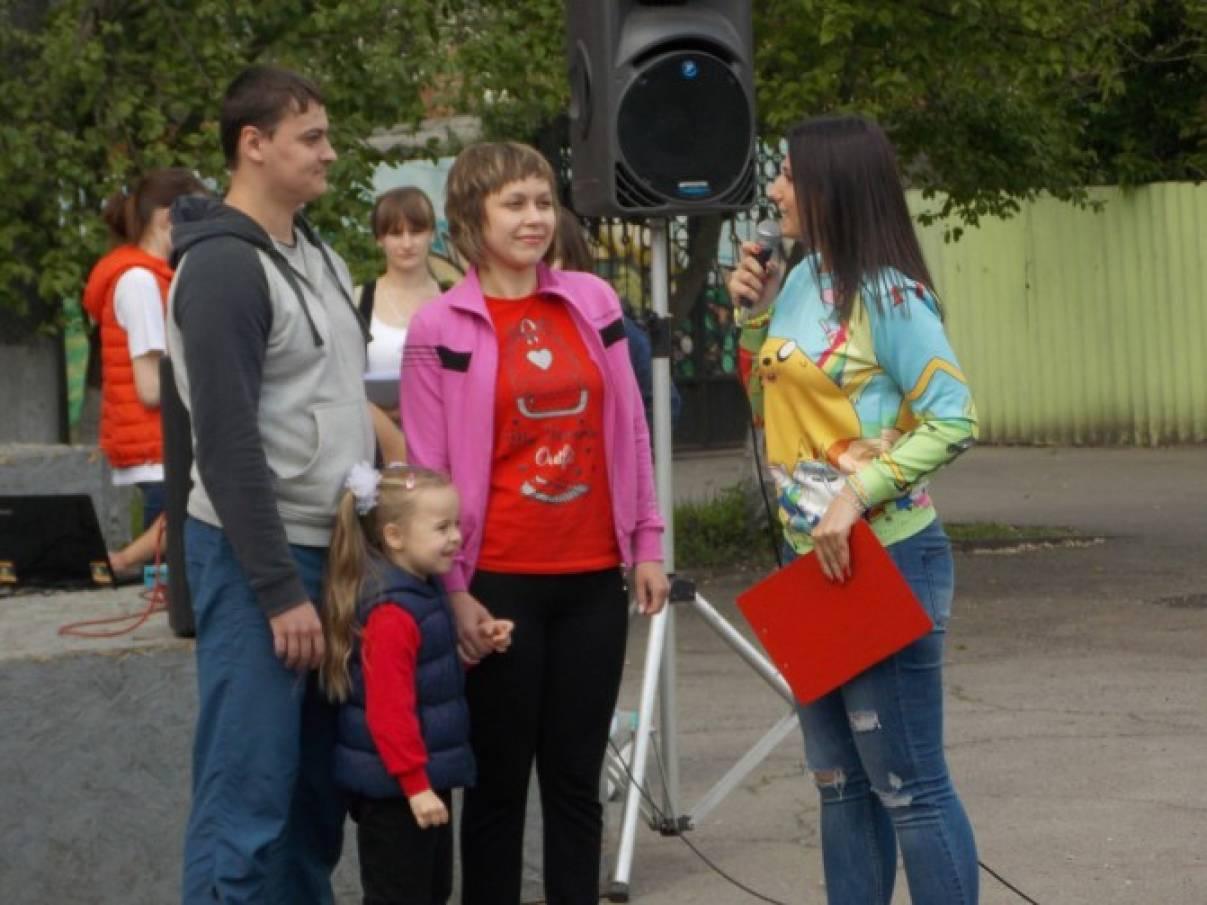 Фотоотчет «Городской конкурс «Мама, папа, я — спортивная семья», посвященный 210–летию города Новочеркасска»