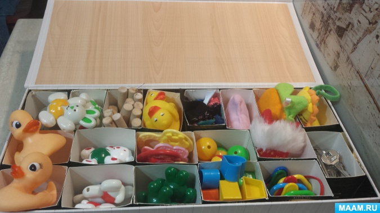 Сенсорная коробка, как основа речевого развития ребенка