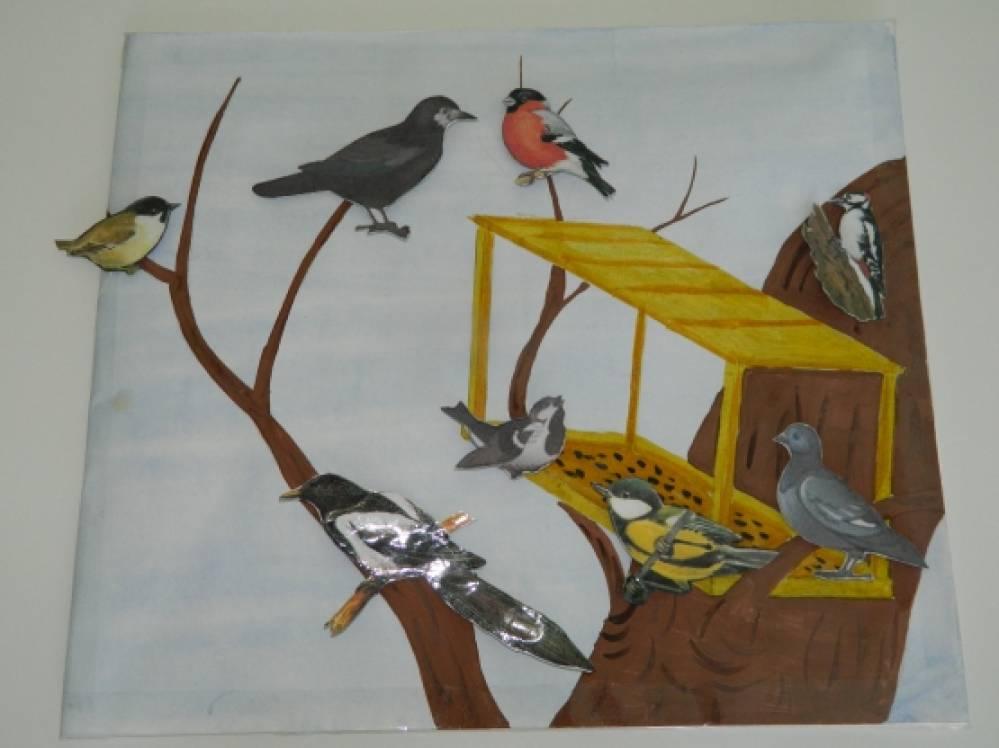 Картинки птицы прилетели для детей, серединой