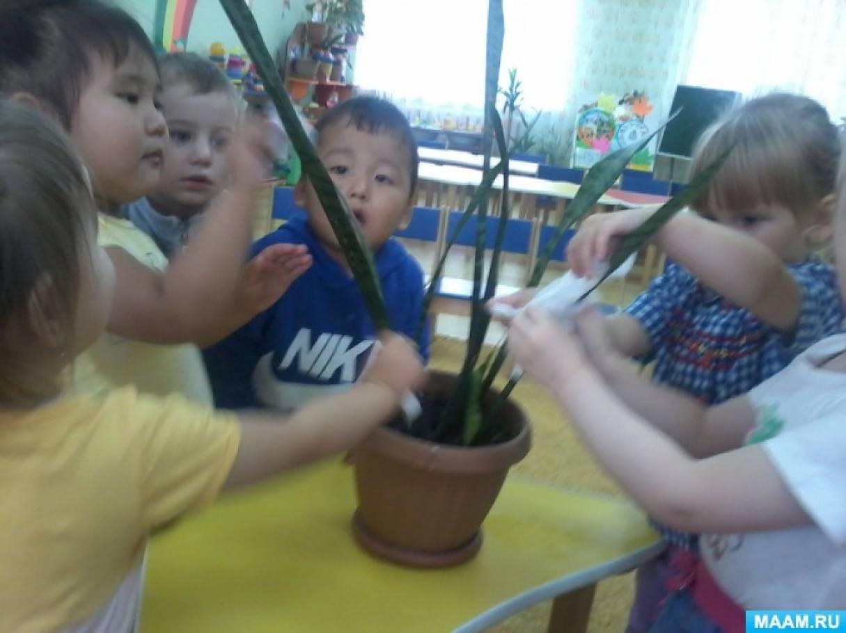 Экологический проект «Вода» в первой младшей группе