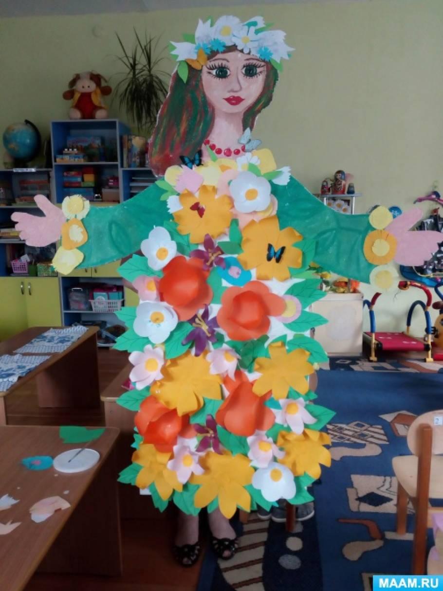 Мастер-класс в детском саду «Красавица Весна»