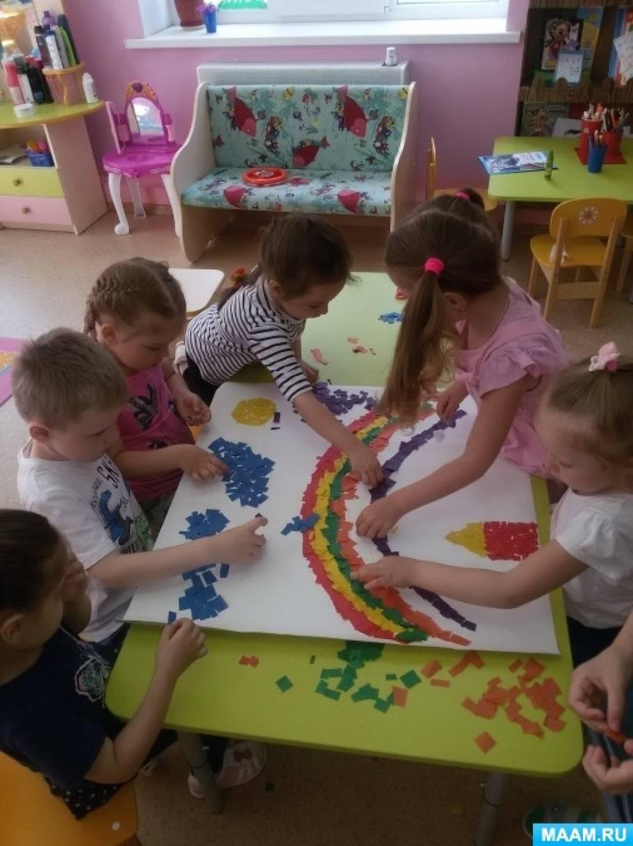 detsad-1599701-1571168660 Аппликация из бумаги. Идеи для детского творчества. Воспитателям детских садов, школьным учителям и педагогам