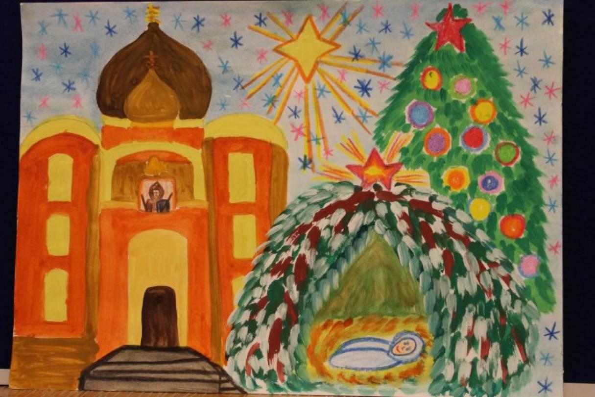 Мая открытки, рисунок на рождество христово своими руками на конкурс