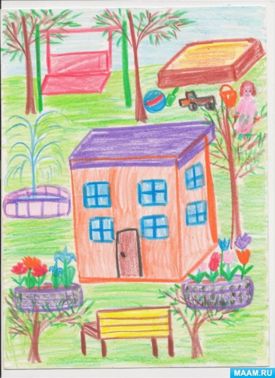 Наш любимый детский сад рисунки поделки 25