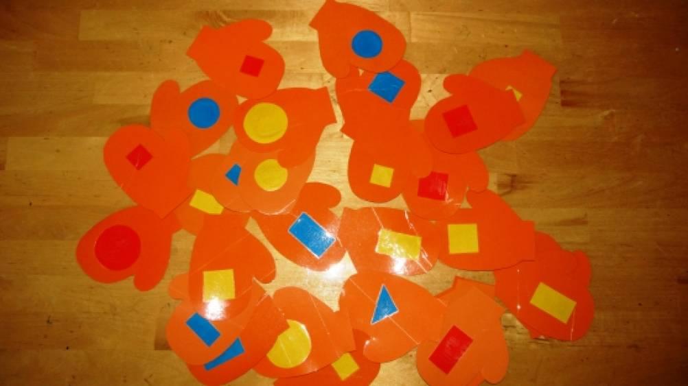 занятия по знакомству дошкольников с геометрическими фигурами
