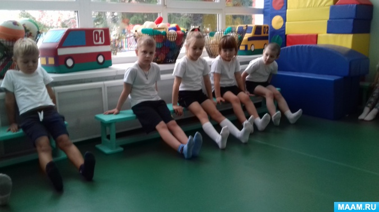 Профилактика плоскостопия у дошкольников