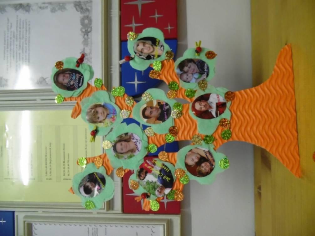 Древо своими руками в детский сад 73