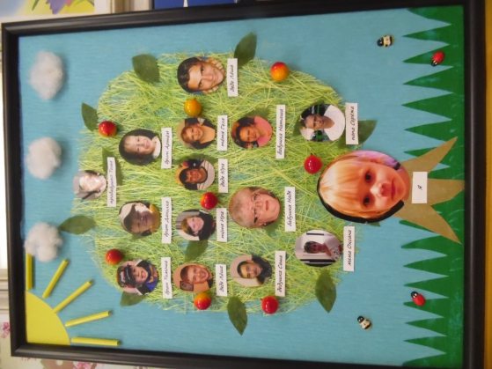 Древо своими руками в детский сад 24