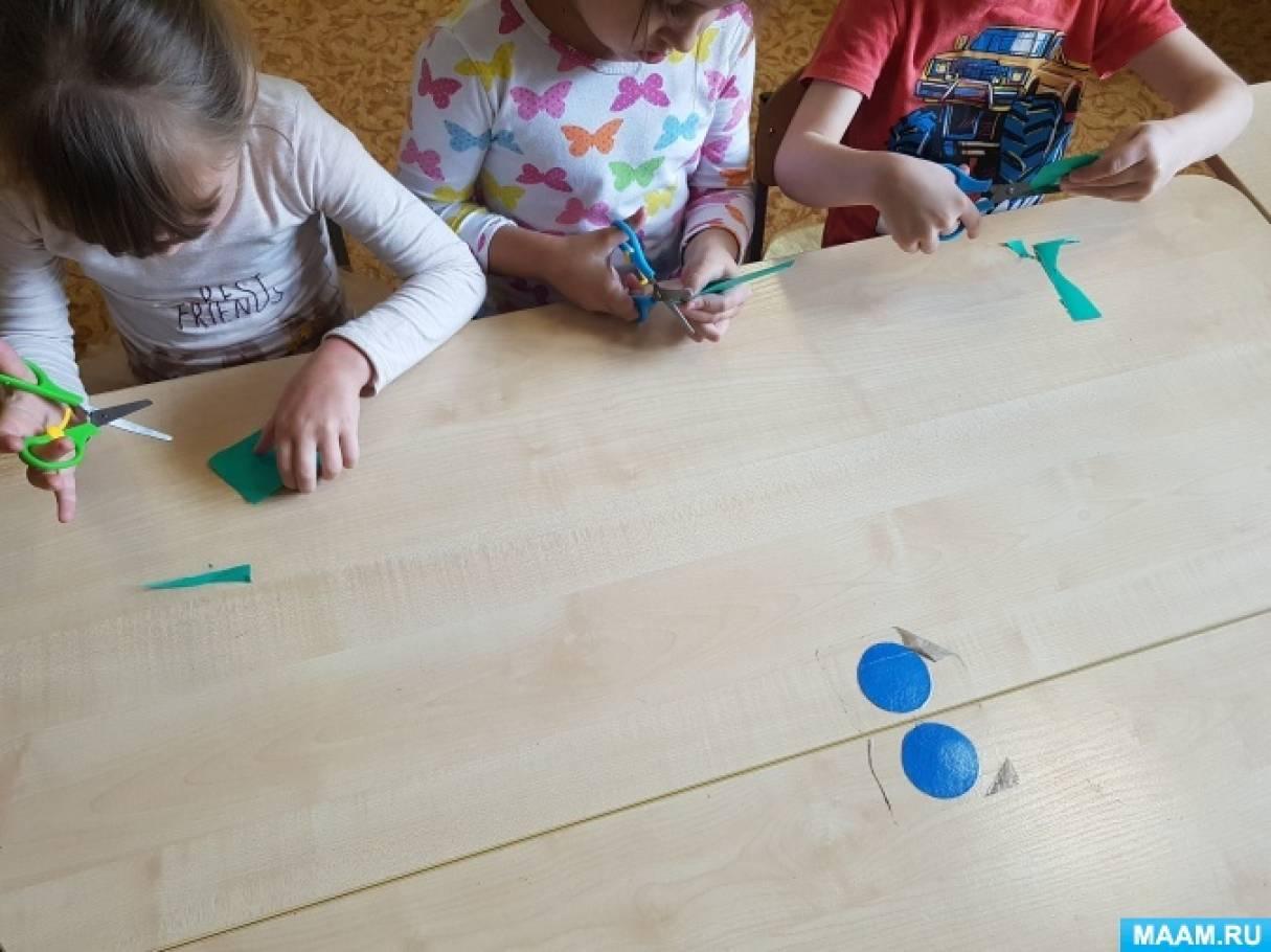 detsad-1626406-1570974285 Аппликация из бумаги. Идеи для детского творчества. Воспитателям детских садов, школьным учителям и педагогам
