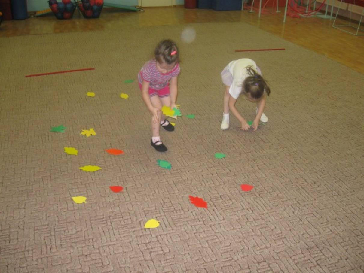 Физкультурное развлечение для детей среднего дошкольного возраста «Здравствуй,  Осень! »