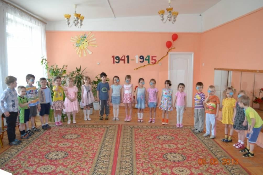«День победы» сценарий праздника для детей старших групп