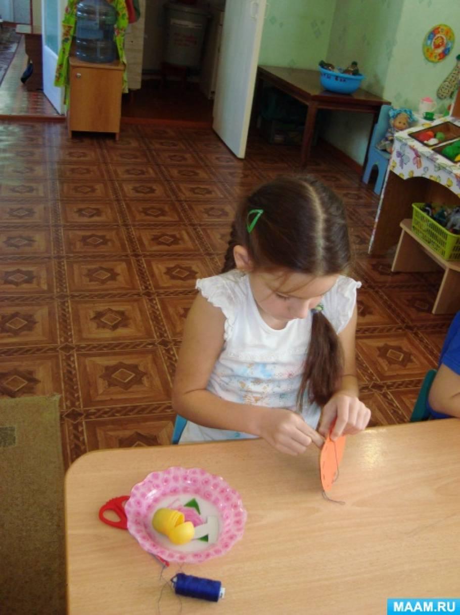 «Первые стежки» (обучение старших дошкольников шитью) 1 блок «Осенние стежки»
