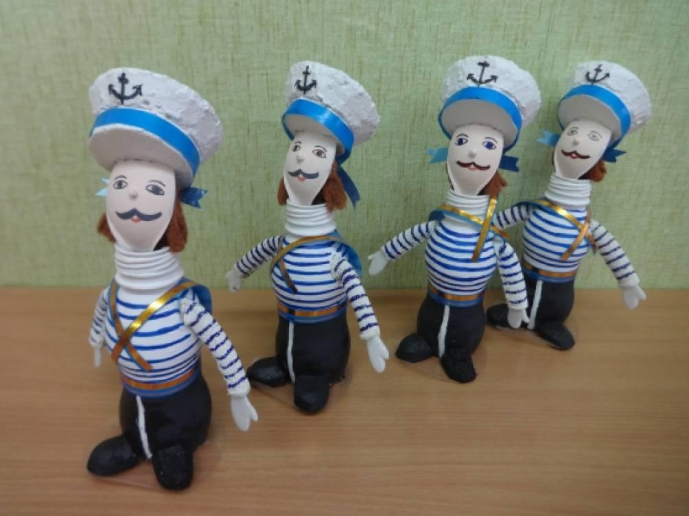 Поделка я морячок