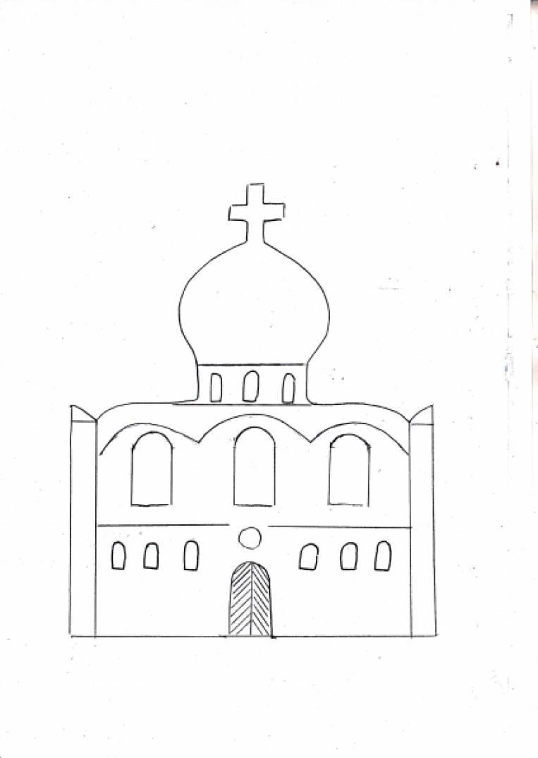 Оригами церковь схема сборки фото 206