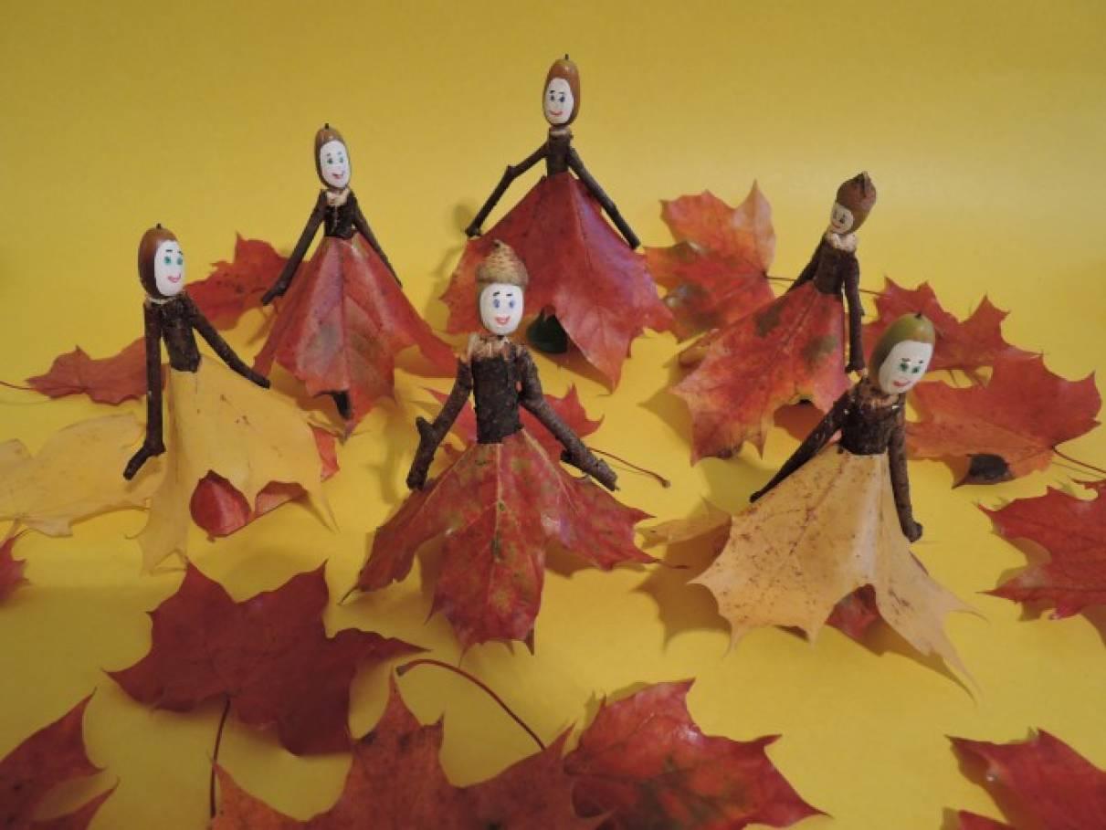 Мастер-класс по изготовлению поделки из природного материала «Осенний бал»