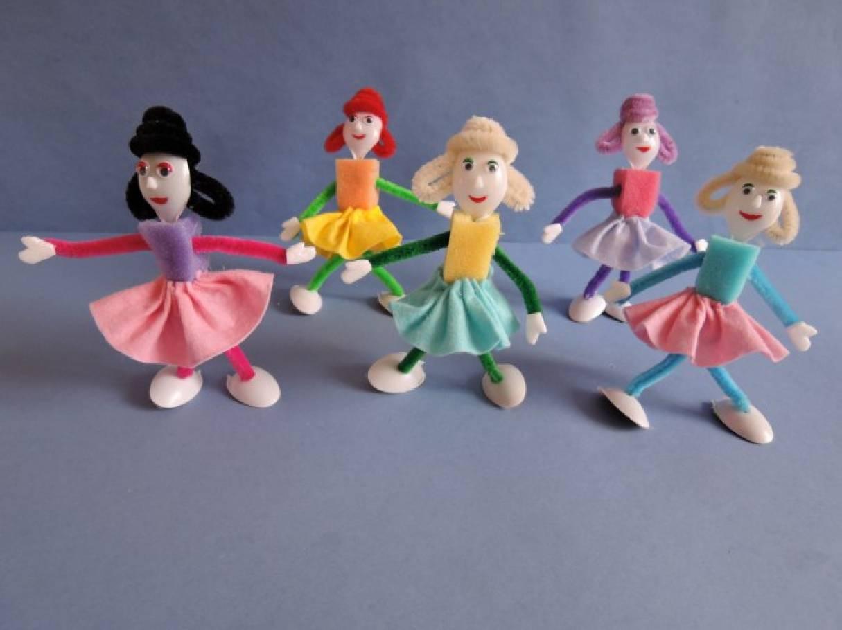 Как сделать куклу из поролона своими руками фото 314