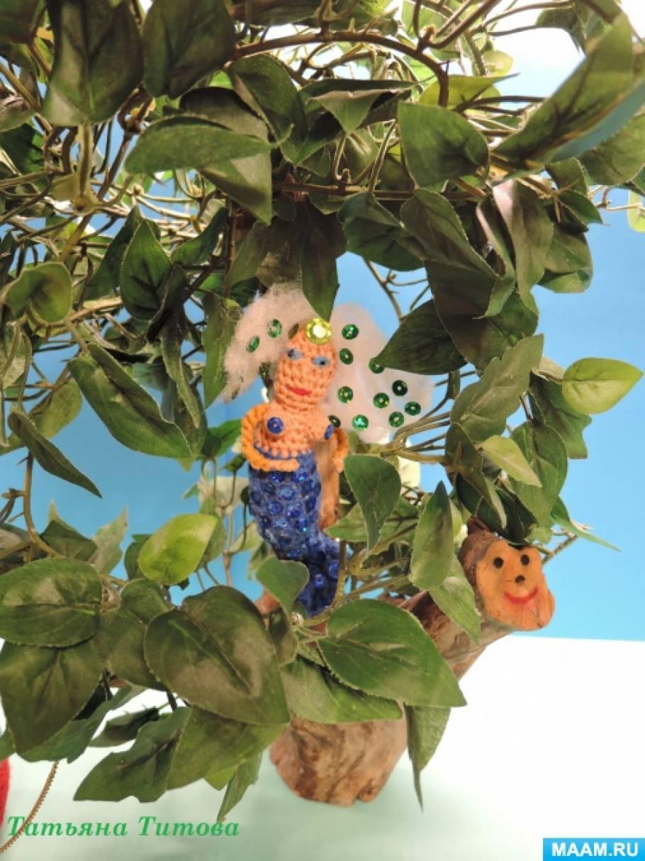 Макет по сказке А. С. Пушкина «У лукоморья дуб зеленый» из ...