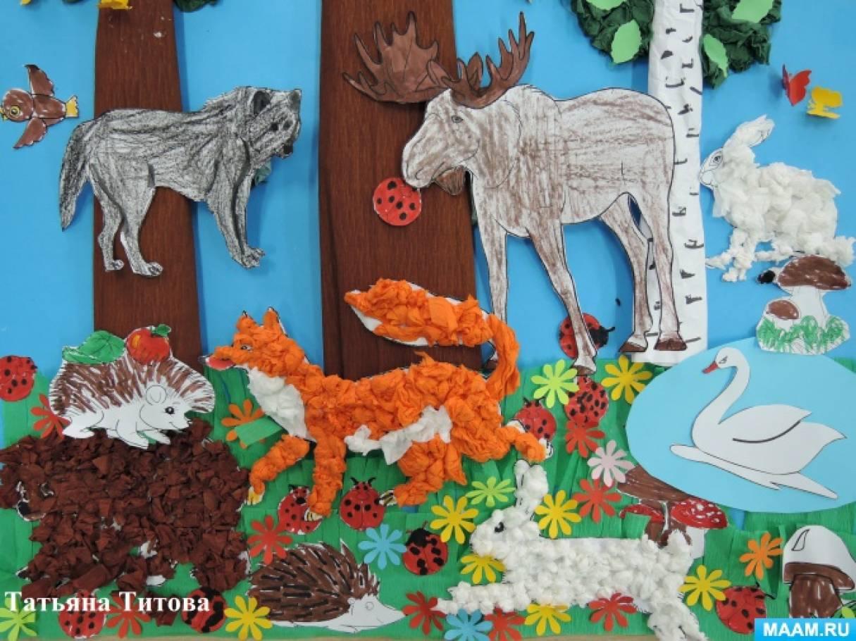 Поделки на тему дикие животные 76