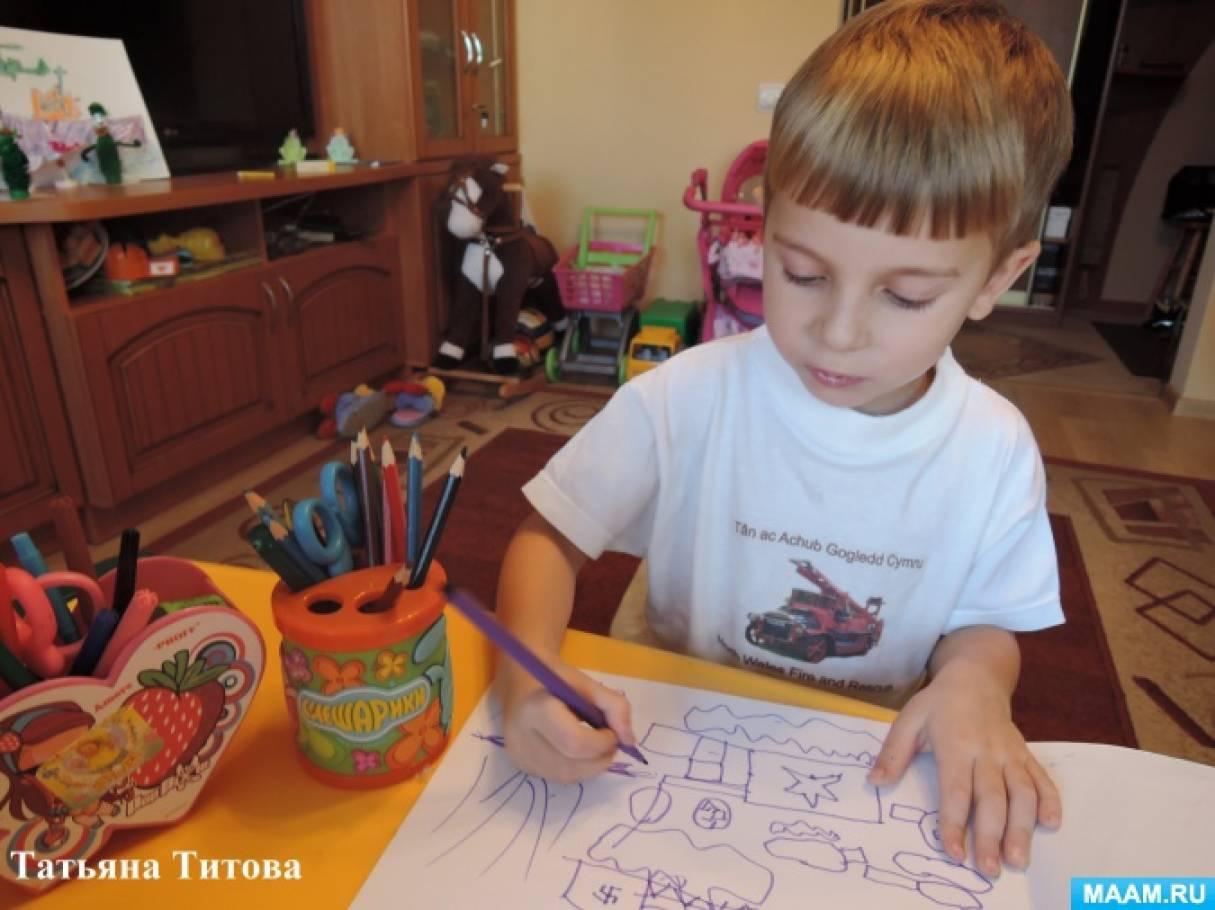Рисуем и развиваемся. Фотоотчет детского творчества