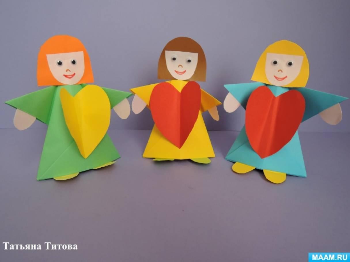 Мастер-класс по изготовлению поделки «Сердечный сувенир для мамы»