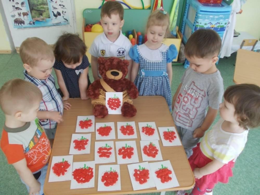конспект занятий по лепке в младшей группе угощение для зайчат