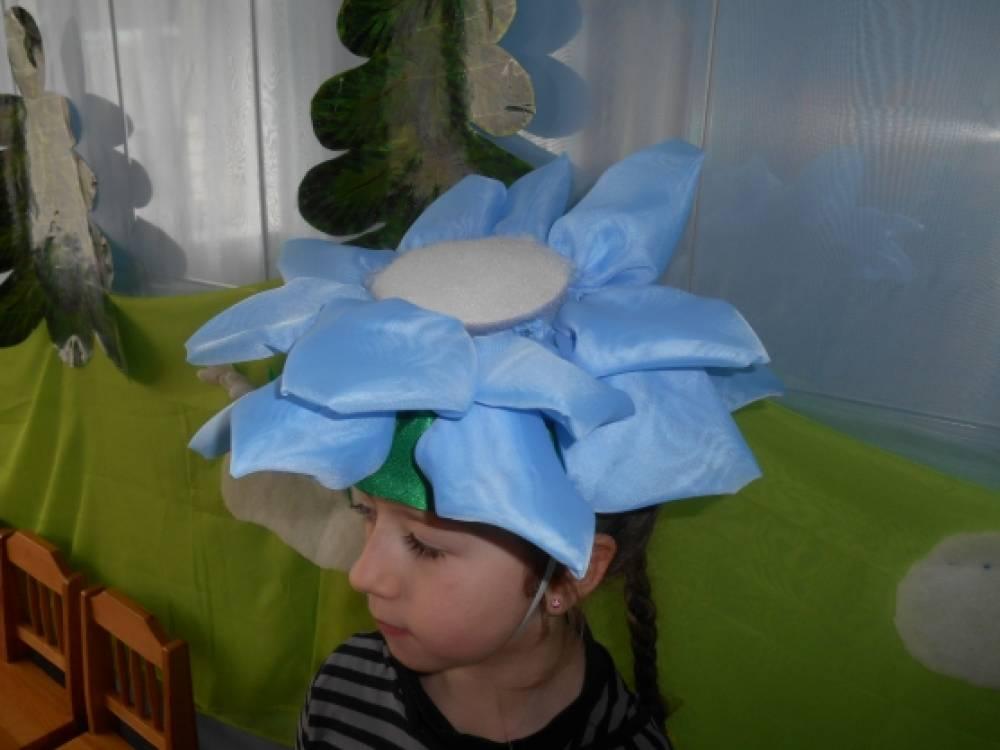 Цветок своими руками для шапки