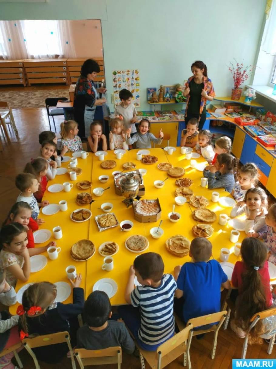 Развлечение для детей подготовительной группы 6–7 лет «Масленица широкая»
