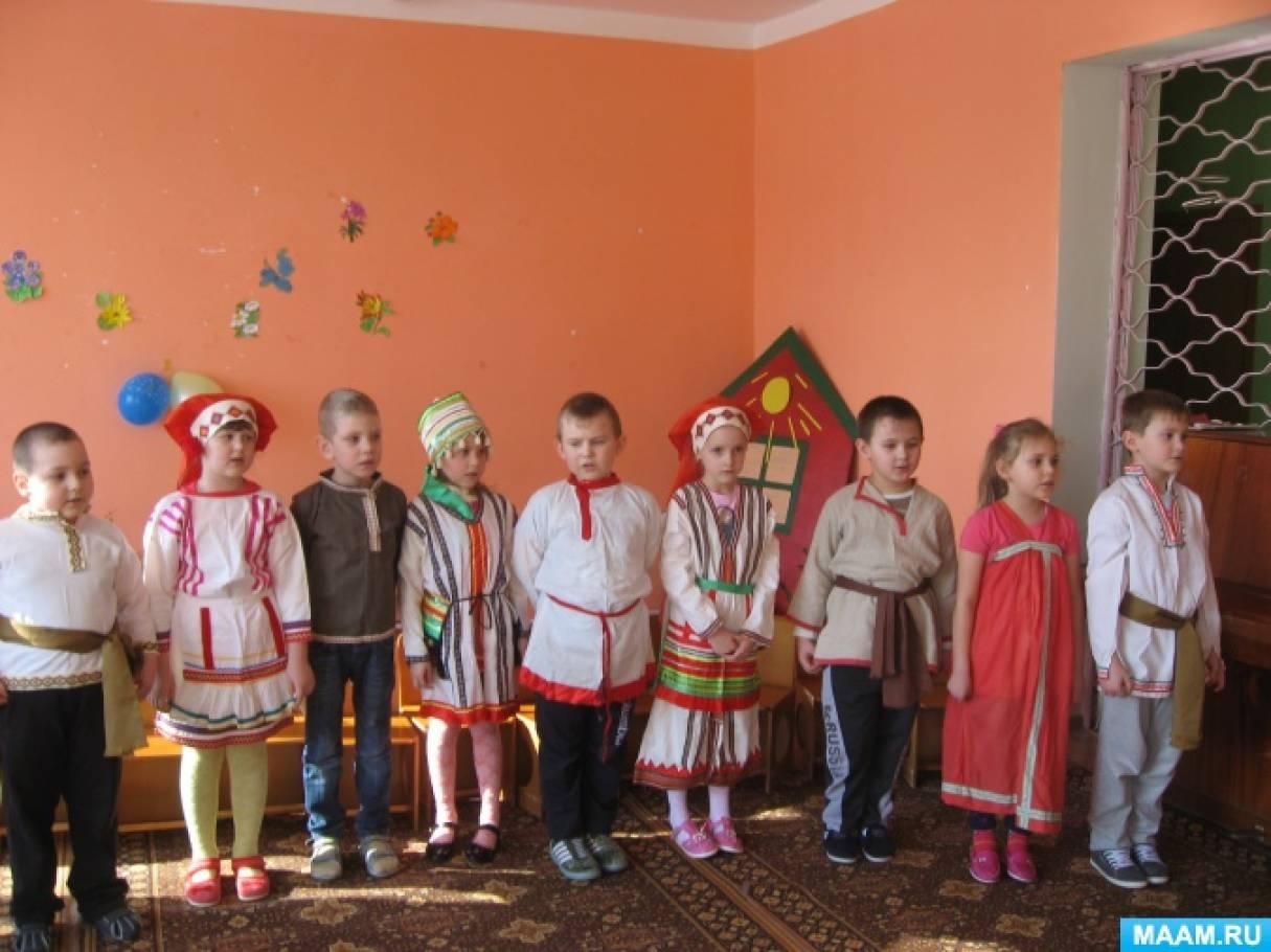 Из опыта работы «Воспитание детей дошкольного возраста на основе мордовских традиций»