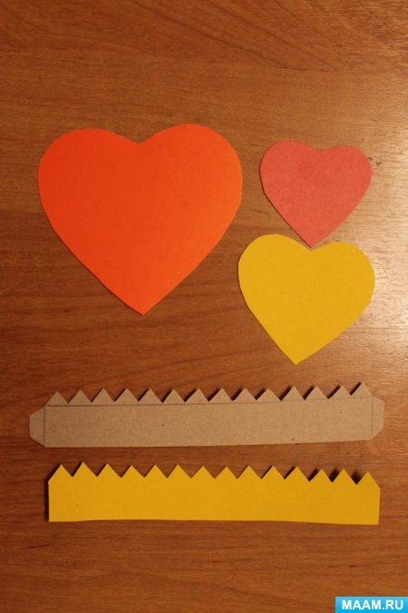 Мастер-класс по конструированию из бумаги «Коробочка «Сердечко»