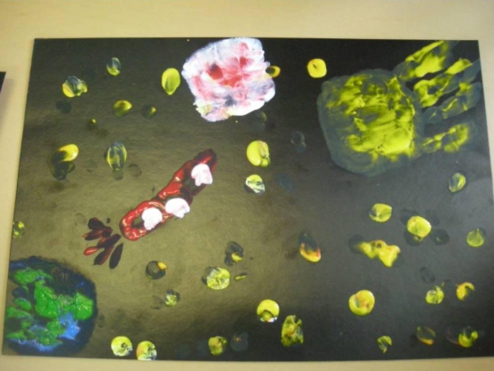 знакомство детей с космосом в детском саду