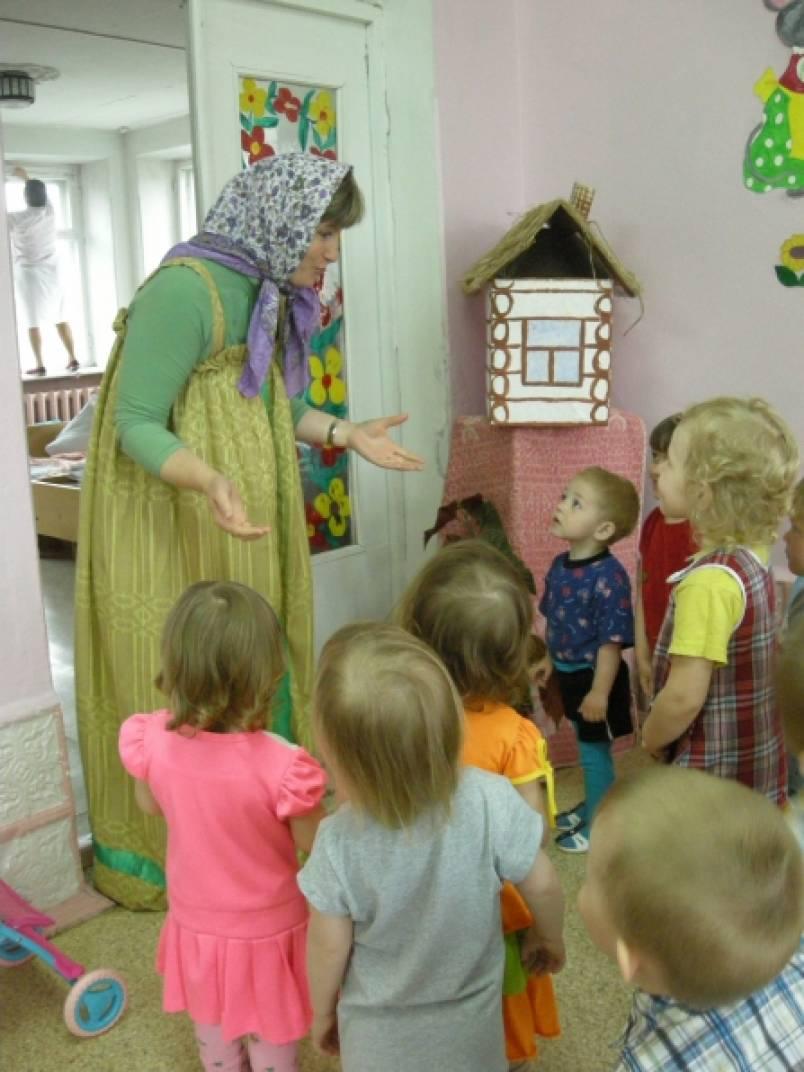 знакомство с фольклором в детском саду