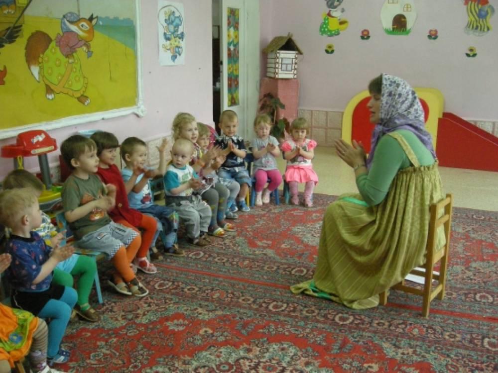 знакомство с русским фольклором