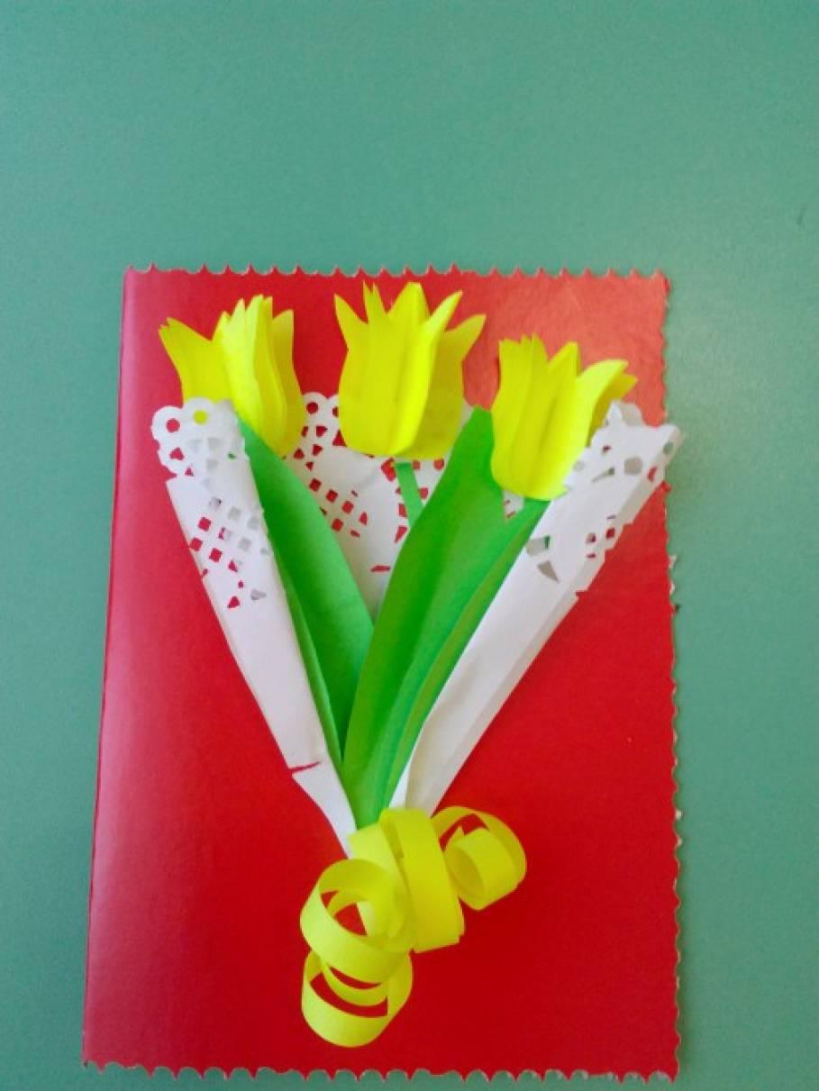 Английском путешествие, тюльпаны для мамы открытки