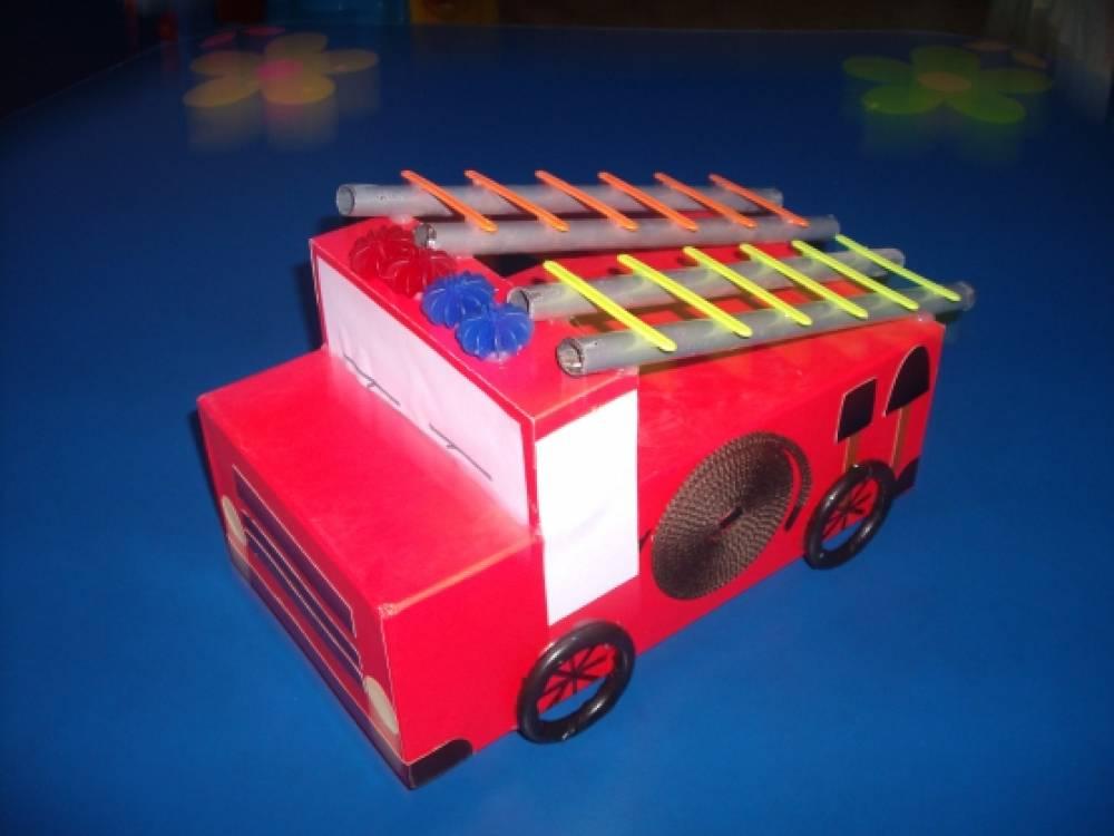 Поделка с детьми по пожарной безопасности 2