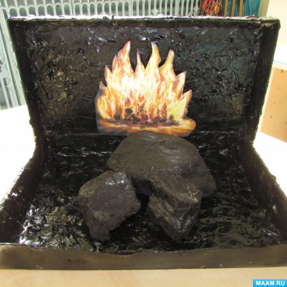 Поделки из угля своими руками 27