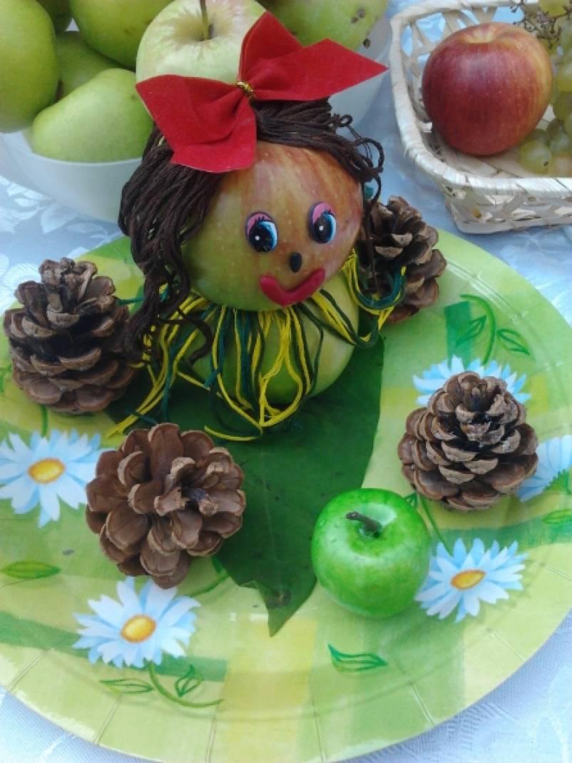 Поделка для яблочного спаса в детском саду 674