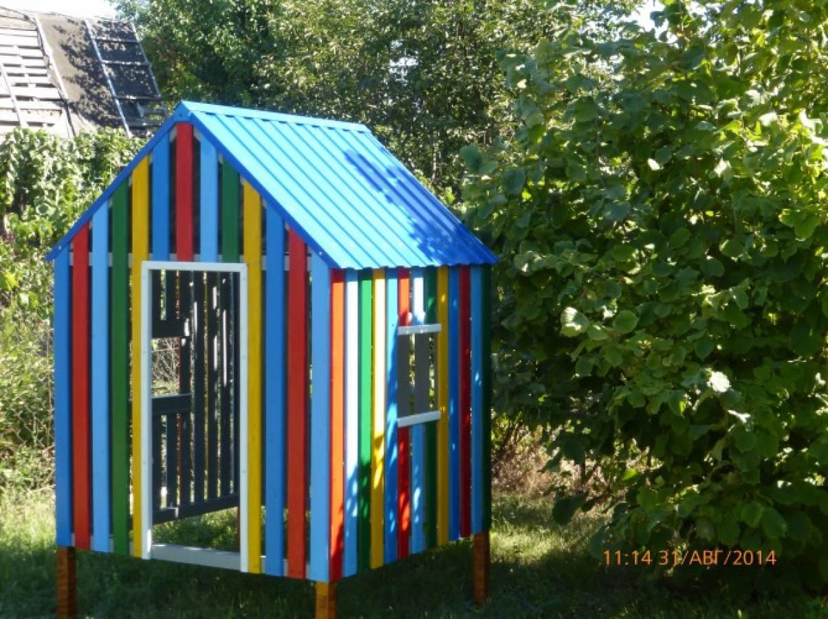 Детский домик своими руками для детского сада 618
