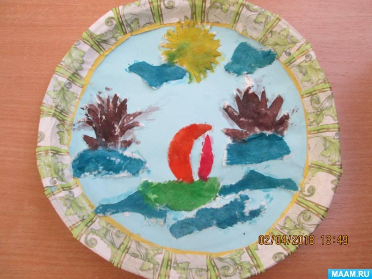 Мастер-класс по изготовлению поделки из ватных дисков «Растаял снег, бегут ручьи»