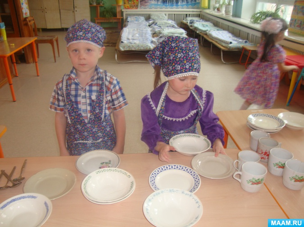 Дежурство в детском саду (фотоотчет)