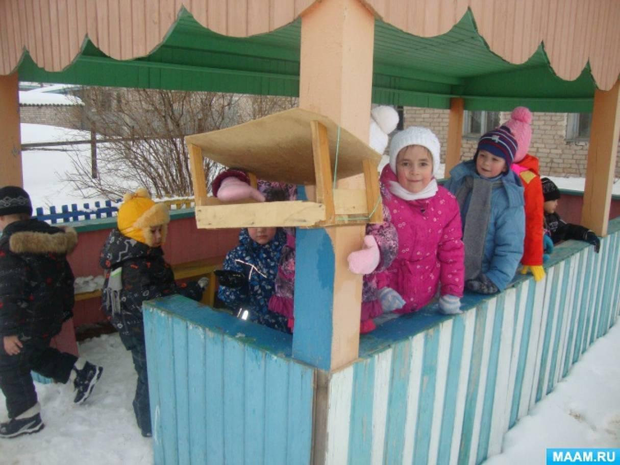 Фотоотчет «Прогулка зимой»