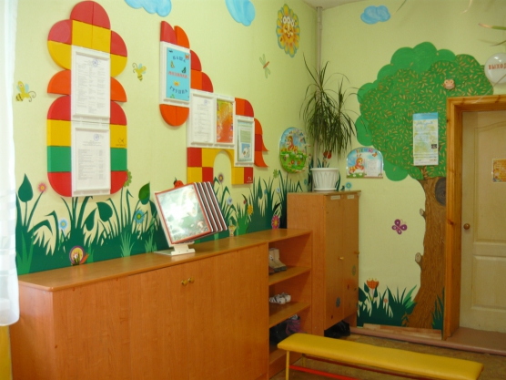 Оформления приемной в детском саду своими руками картинки