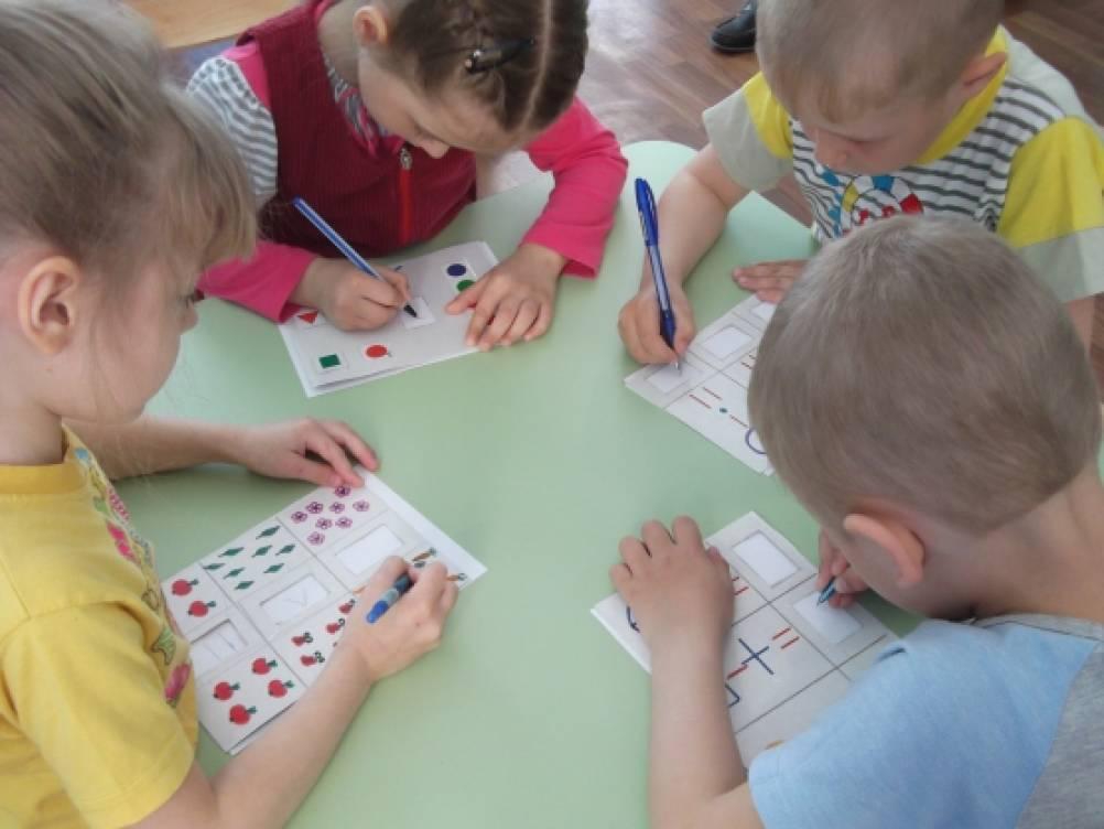 Дидактическая игра по математике в средней группе