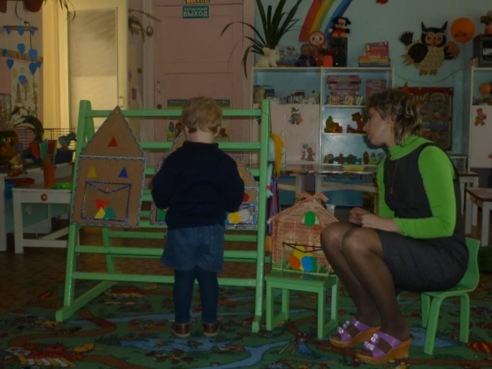 занятия по сенсорному воспитанию знаком