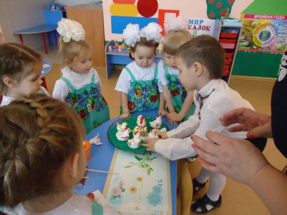 Конспект НОД по декоративному рисованию по мотивам филимоновских игрушек «Курочка»