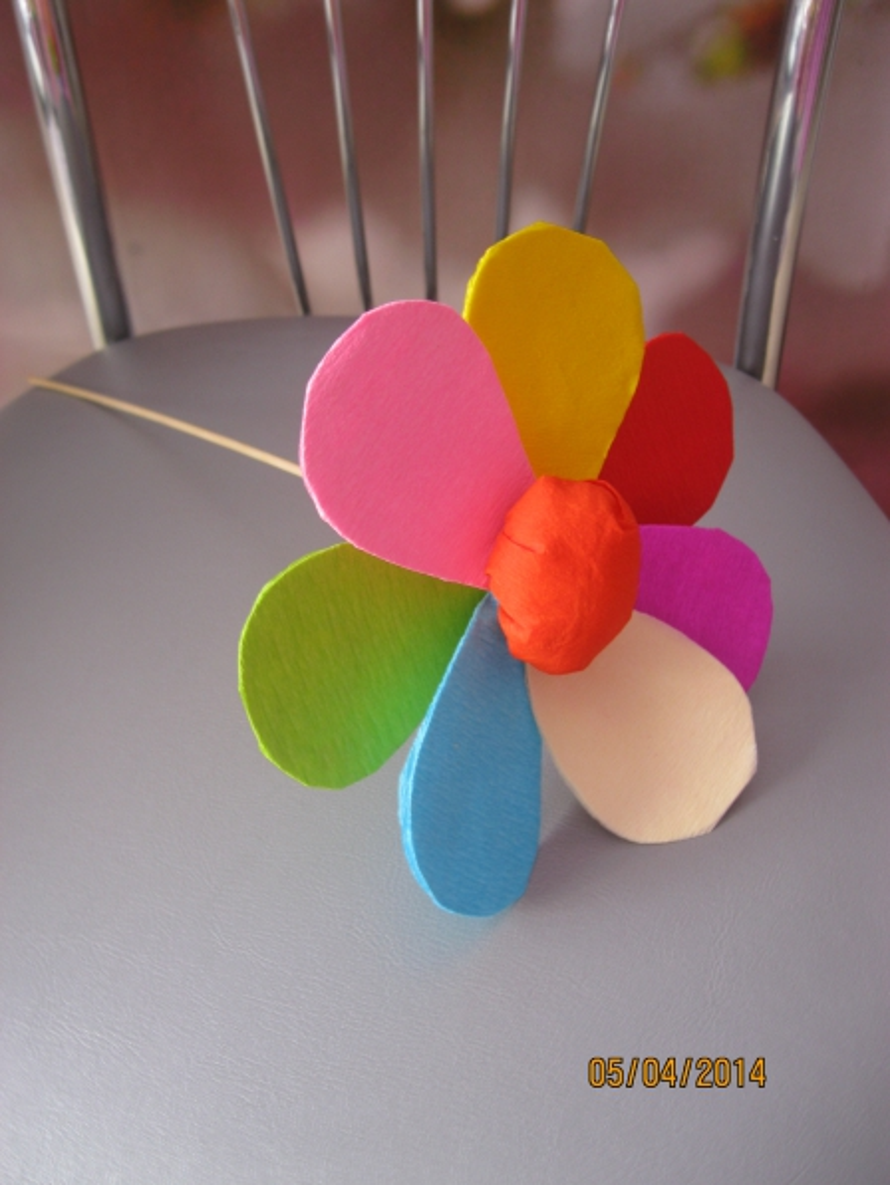 Как сделать лепестки семицветика 224