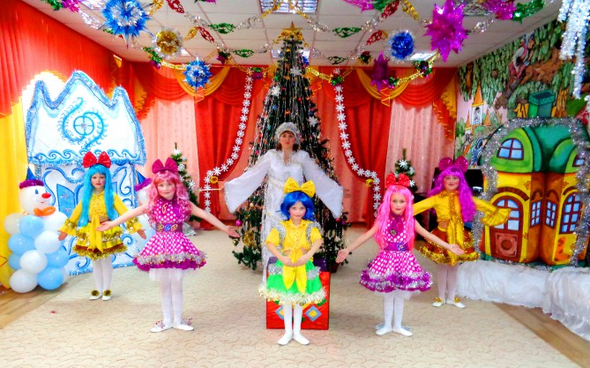 танцевальные игры на новый год для детей