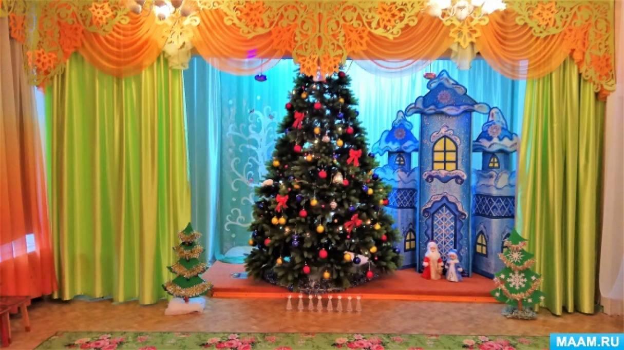 Новогодний утренник для детей подготовительной группы «К Деду Морозу на день рождения»