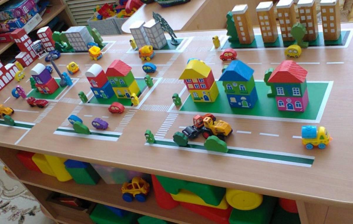 Макет города для детского сада своими руками фото 8