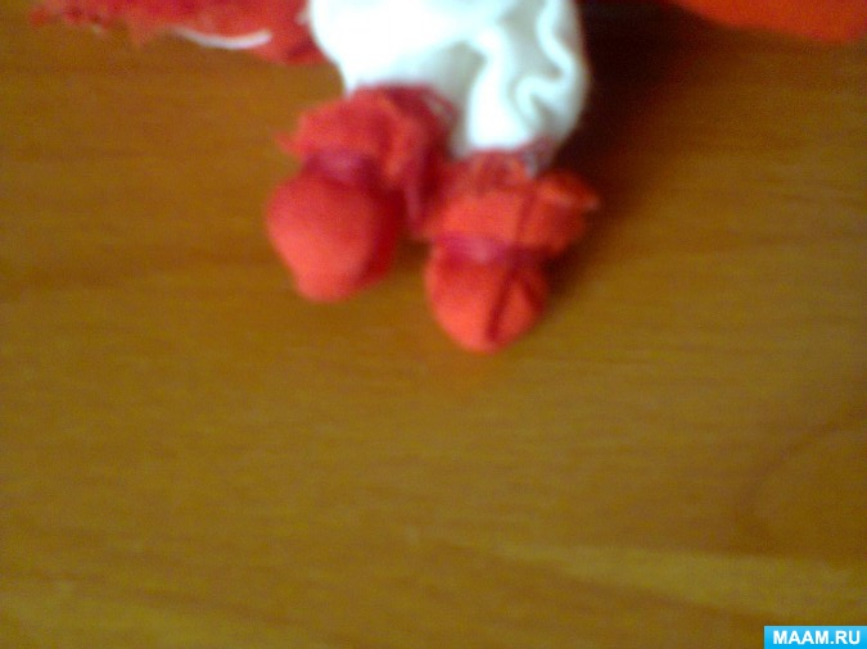 Мастер-класс «Кукла-оберег Долюшка»