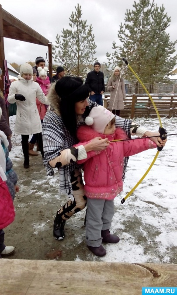 Взаимодействие детского сада и семьи в соответствии с ФГОС в зимнее время года